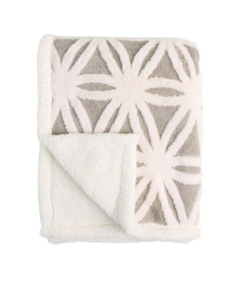 Jacquard-warm-microplush-blanket