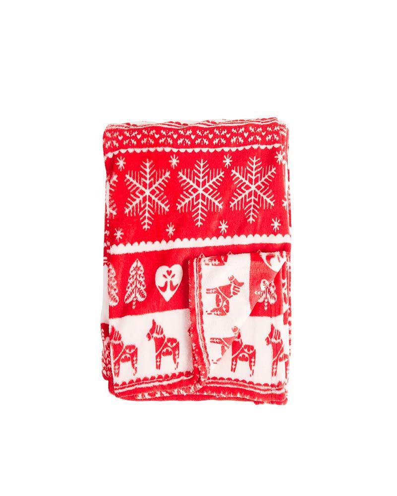 Printed gift blanket