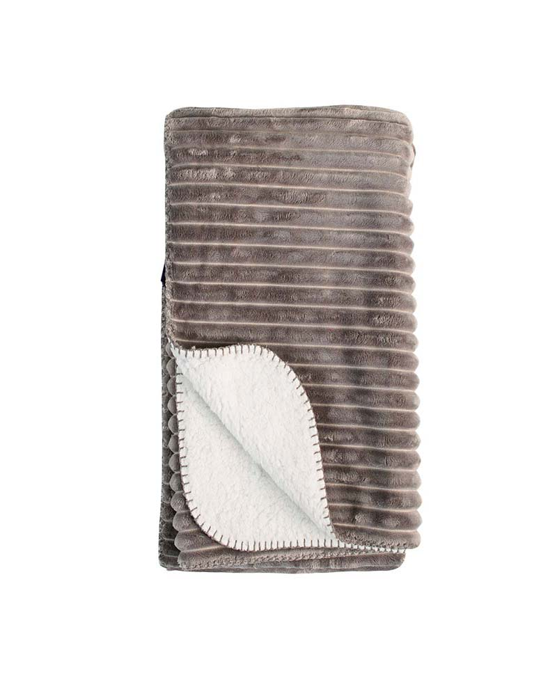 stripe-grey-sherpa-blanket